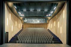 architectesassoc. · Théâtre National · Divisare Contemporary Architecture, Interior Architecture, National Theatre, Auditorium, Home Decor Trends, Belgium, Stairs, Projects, Cultural
