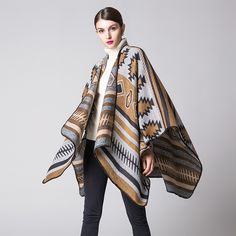 simple fashion thickening lengthened warm air conditioning shawls blanket