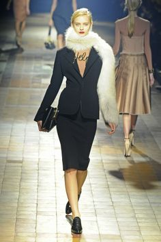 Fall 2013 Trend: That Forties Show (Lanvin RTW Fall 2013)