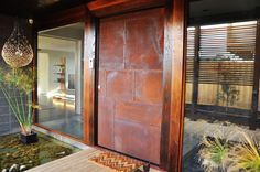 This custom designed front door is an amazing feature to add to your home. We worked with the... learn more