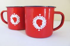 Red Woelwater Mug by tjou-tjou on hellopretty.co.za