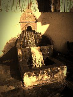 Fuente del Oro, en la Alpujarra de Almeria, situada en el municipio de Berja