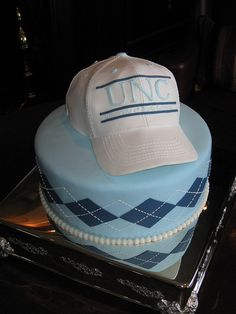 UNC Hat cake by hainesbarksdale, via Flickr