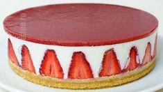 Chocolate Peanut Butter Cheesecake, Nutella Cheesecake, Cheesecake Recipes, Strawberry Cheesecake, Baked Strawberries, Chocolate Strawberries, Cheesecake Frio, Tart Recipes, Cheesecake