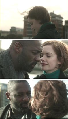Glad they ended up together ---> Alice & Luther Luther Bbc, Idriss Elba, Ruth Wilson, Bbc Drama, Bbc Tv, People Of Interest, English Actresses, Best Couple, Film Movie