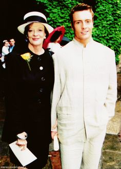 Maggie Smith & Toby Stephens - Mother and son, two gorgeous people!