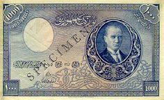 1.Emisyon 1000 Lira