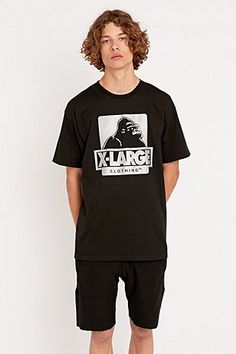 X-Large OG Tee in Black - Urban Outfitters