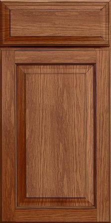 Merillat Masterpiece Cabinetry-Fairlane Square Oak Rye With Sable Glaze from waybuild