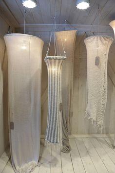 knitwear lampshades