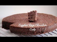 No Eggs No Butter Ragi Chocolate Cake (Eggless Butterless Finger Millet cake) - YouTube