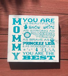 A personal favorite from my Etsy shop https://www.etsy.com/listing/515493052/on-sale-mothers-day-sign-gift-for-mom