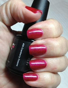 Couture Gel Nail Polish Cranberry Cosmo F Good Christmas Color