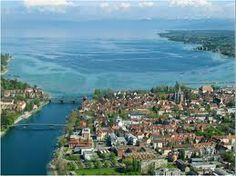 Konstanz, Germany, a medieval university town on the Bodensee, home to Peter Schmid | Atelier Zobel.  Beautiful jewelry, beautiful setting.