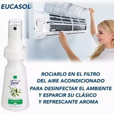 eucasol - spray de eucalipto swiss just Home Remedies, Natural Remedies, Young Living, Doterra, Spray Bottle, Just In Case, Essential Oils, Personal Care, Cleaning