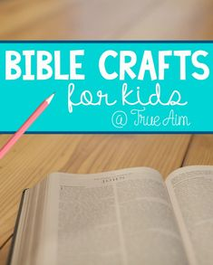 Bible Crafts for Kids - These are awesome!