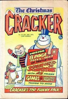 Cracker | British Comics Christmas Comics, Christmas Games, Mad Ads, Billy The Kids, Crackers, British, Pretzels, Biscuit, Holiday Party Games