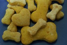 Honey and Carrot Dog Biscuits