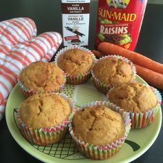 Recipes, thoughts on health and food! Carrot Muffins, Quick Easy Meals, Indian Food Recipes, Family Meals, Carrots, Curry, Cupcakes, Breakfast, Vanilla