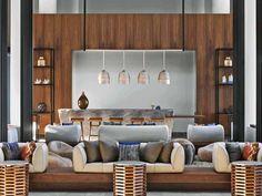 50 Best interior design projects by Rockwell Group Interior Design Magazine, Best Interior Design, Interior Design Inspiration, Lobby Interior, Interior Architecture, Interior Paint, Tulum, Restaurants, Interior Window Shutters