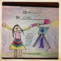 More ideas for kindergarten art book!