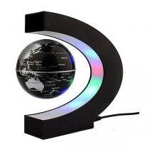 Mapa do Mundo Magnetic Floating Globe Anti Gravidade com luz LED!