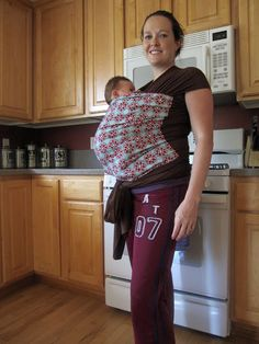 958fc03007e Shannon Makes Stuff  Baby Wearing! A Baby Wrap Tutorial... Baby Wraps