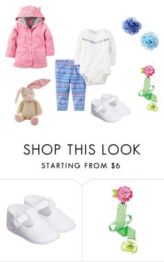 """""""Sin título #3148"""" by alejaborrayo on Polyvore featuring Baby, girl, seven y months"""