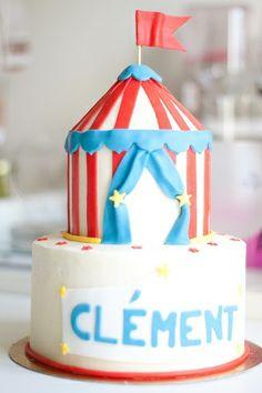 Gâteau Chapiteau de Cirque par Dame Théière