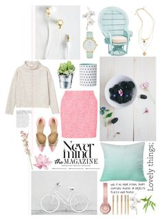"""""""● OFF TO THE RACES"""" by paty ❤ liked on Polyvore featuring DENY Designs, Topshop, Julien David, Holly's House, Kate Spade, Monki, Beats by Dr. Dre, CO, Pier 1 Imports and Crate and Barrel"""