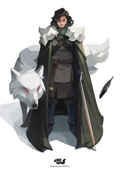 ArtStation - Jon Snow, chanin suasungnern