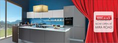 Launched a new showroom Miraroad.  Dear friends visit our showroom and grab the best deals in modular kitchen
