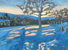 Oil pantings by Sussex artist, James Lightfoot Oil Painting On Canvas, Snow, Paintings, Sunset, Artist, Sunsets, Painting Art, Painting, Paint