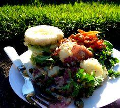 Vegan picnic menu