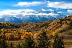 Gros Ventre Road, Wyoming by Eva0707