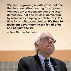 Go get 'em Bernie!