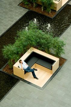 Green Atrium, VAT83 Building, by PLH studio, Søborg, Copenhagen. Click image for full profile and visit the slowottawa.ca boards >> http://www.pinterest.com/slowottawa