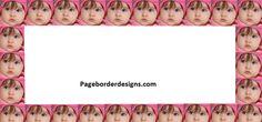 beautiful baby photo border designs 2016