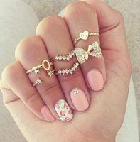 half finger rings