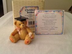 "Cherished Teddies Girl Graduation "" The Best Is Yet to Come"" 1995 