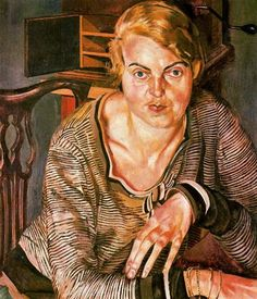 Portrait of Patricia Preece - Stanley Spencer