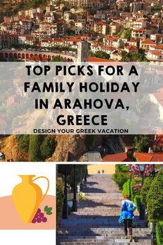 When in Arahova Greece with your family, make sure to walk every stone covered street and climb every step in this town nestled in the hills. Explore this article to find out all the Arahova has to offer your family! Greece Design, Types Of Noodles, Christmas Events, Modern Shop, In Ancient Times, Greece Travel, Athens, Family Travel, Travel Inspiration