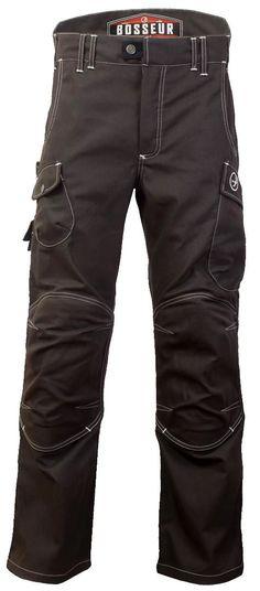 Le Harpoon (couleur ébène) et le Harpoon Max de chez Bosseur. Camping Outfits, Camping Clothing, Leather Pants, Trousers, Mens Fashion, Scrambler, Seals, My Style, Edc