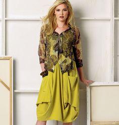 Patron de robe et veste - Vogue 8975