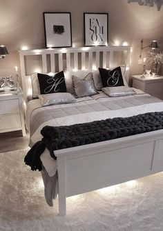 Bedroom Decor For Women, Bedroom Decor For Small Rooms, Small Bedroom Designs, Home Decor Bedroom, Bedroom Ideas, Bedroom Modern, Small Bedrooms, Decor Room, Diy Bedroom