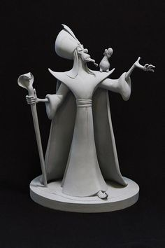 Disney maquette sculptures by artist Kent Melton, made during the development of the films - Imgur