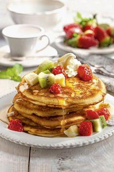 Pancakes, Breakfast, Bar, Food, Ideas, Gluten Free Cakes, Healthy Cake, Chicken With Mushrooms, Health Desserts