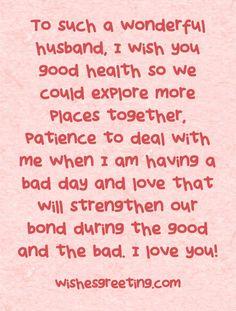 Happy Birthday to my Husband | WishesGreeting