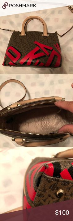 DKNY crossbody bag Some wear on 2 corners. Other than that, it is in great condition. Dkny Bags Crossbody Bags