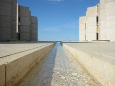 Salk Institute for Biological Studies.1962. La Jolla, California. Louis Kahn